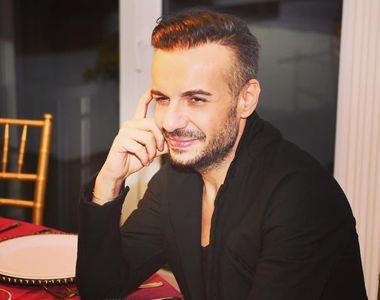 Semn divin la priveghiul designerului Răzvan Ciobanu, după terminarea slujbei de...