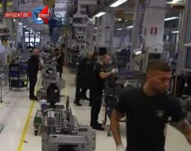 VIDEO | O mare fabrica germana s-a retras din Timis din cauza furturilor angajatilor...