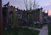 Și-a agresat fiica și soția după care a dat foc la casă