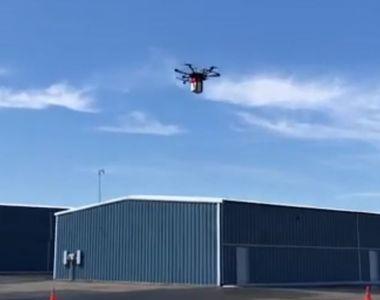 Premiera mondiala. Rinichi transportat cu drona. O pacienta a fost salvata