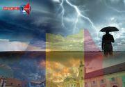 Romania, lovita de noi fenomene extreme. Un nou ciclon va aduce aduce vreme instabila si frig