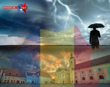 Romania, lovita de noi fenomene extreme. Un nou ciclon va aduce aduce vreme instabila...