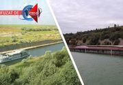 VIDEO   Malul crapat al Canalului Dunare-Marea Neagra s-ar putea prabusi de tot! Ce spune ministrul Transporturilor