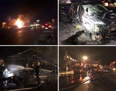 Incendiu la un restaurant din localitatea Afumaţi! Focul a izbucnit după ce o maşină a...