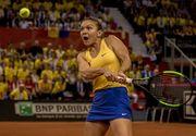 Simona Halep s-a calificat în turul doi la Madrid după un meci de o oră şi 15 minute cu Gasparian: scor 6-0, 6-4