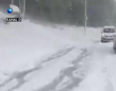 VIDEO. Valul de aer polar loveste Europa