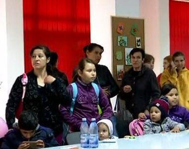 VIDEO | Buluc la vaccinare contra rujeolei, in Tandarei. Doar un copil fusese imunizat...