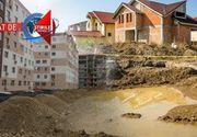 VIDEO | Lux pierdut in noroi.  Strazi pline de gropi in cartierele rezidentiale