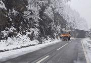 VIDEO | Iarna in ultima luna de primavara din calendar