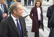 VIDEO | Cum au petrecut Frans Timmermans, Donald Tusk si Jean Claude Juncker prima zi în România