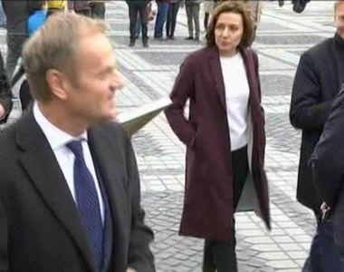 VIDEO | Cum au petrecut Frans Timmermans, Donald Tusk si Jean Claude Juncker prima zi...