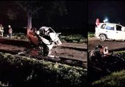 Un tânăr a murit pe loc într-un accident produs în Prahova! S-a lovit violent de un copac