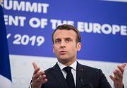 Emmanuel Macron, la Sibiu: Europa trebuie să fie mai eficientă în privinţa frontierelor sale