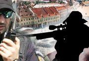 VIDEO | Sibiul, fortareata in timpul summitului. Nu au lipsit lunetistii