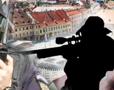 VIDEO   Sibiul, fortareata in timpul summitului. Nu au lipsit lunetistii