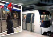 VIDEO | Balustrada in calea mortii, la metrou