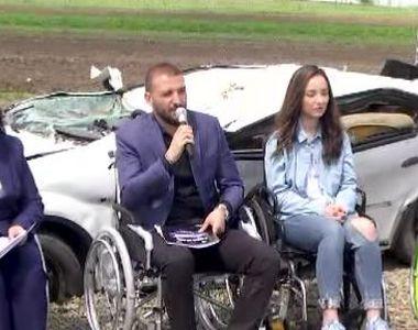 VIDEO | Stefan Mandachi, conferinta in scaun cu rotile. Ce mesaj a vrut sa transmita