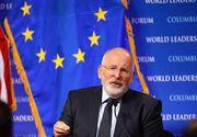 VIDEO | Ultimatum lui Timmermans pentru Romania, descifrat