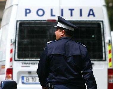 Galați. Polițiști atacați cu pietre şi cu par de un bărbat