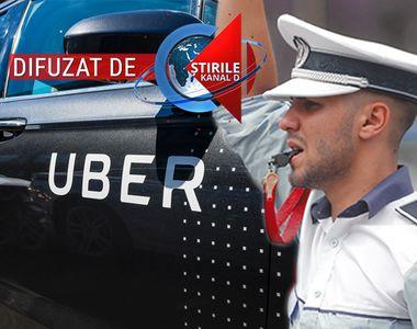 VIDEO | Marturia soferului de Uber care a luat prima amenda in Bucuresti