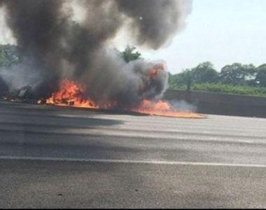 Avion prăbuşit în apropierea Aeroportului din Dubai! Cel puțin patru persoane au murit