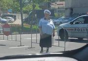 """Povestea doamnei Geta, polițista care a fost ținta glumelor pe net, după ce o poză cu ea a devenit virală. Cum răspunde MAI: """"Vă asigur că..."""""""