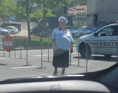 Povestea doamnei Geta, polițista care a fost ținta glumelor pe net, după ce o poză cu...