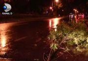 VIDEO | Vijelie puternica la Timisoara. Cod gaben de vreme rea in 27 de judete
