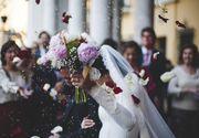 Bătaie incredibilă la o nuntă din București. Angajații restaurantului s-au încăierat cu invitații, chiar sub ochii miresei