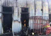 O brutărie din judeţul Constanţa a fost distrusă într-un incendiu