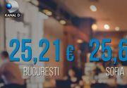 VIDEO | Cel mai ieftin pranz din Europa, in restaurantele din Bucuresti
