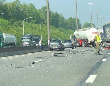 Şofer român mort în Belgia într-un accident groaznic