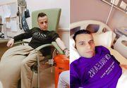 Constantin Preda a murit! Tânărul cu tumoare de 20 de kilograme pe picior s-a stins de ziua lui