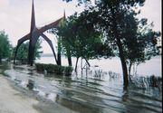 Cod portocaliu de inundaţii în Vaslui, Bacău, Vrancea şi Galaţi, până la ora 22:00