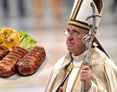 VIDEO | Meniul special pregatit pentru Papa Francisc