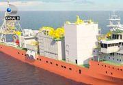 VIDEO | Cea mai moderna nava pentru cautarea de diamante, construita la Mangalia