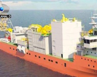VIDEO   Cea mai moderna nava pentru cautarea de diamante, construita la Mangalia