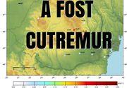 Cutremur cu magnitudinea 3,1, în Marea Neagră