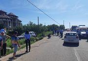 Trei persoane au murit într-un accident rutier produs pe DN 61, în judeţul Giurgiu. FOTO