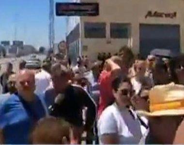 VIDEO | Scrutinul din diaspora s-a lăsat cu scandal! Romanii au fost puși să aștepte...