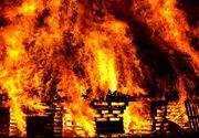 Incendiu puternic într-un mall din Capitală