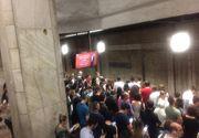 Metrorex: Decalare de două minute în programul de circulaţie pe Magistrala 2 (Berceni-Pipera), din cauza unei fisuri la o şină