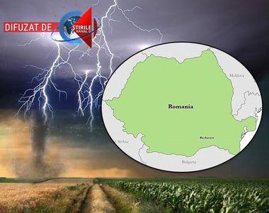 VIDEO | Furtunile violente lovesc din nou România