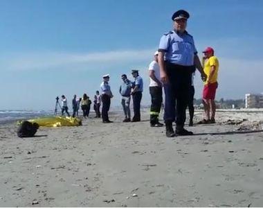 Elevul dispărut în apele mării a fost găsit mort