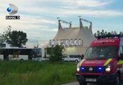 VIDEO | Accident la circ. Un acrobat a cazut de la inaltime