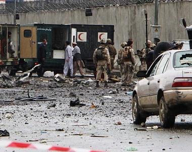 Atentat sinucigaş la Academia Militară Naţională afgană de la Kabul