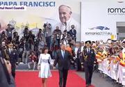 Papa în România 2019. Ce ținută a purtat prima doamnă a României în întâmpinarea Suveranului Pontif