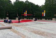 Papa în România 2019. Gafă de protocol la Cotroceni! Covorul roșu strâns de angajați înainte de plecarea Suveranului Pontif