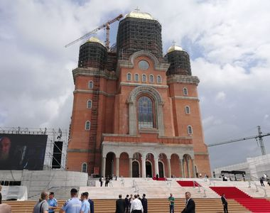 Papa în România 2019. Șantier la Catedrala Mântuirii Neamului, cu câteva ore înainte de...