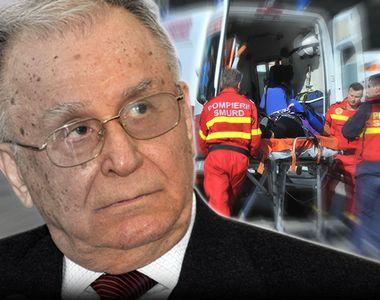 Ion Iliescu a fost dus la spital în stare gravă